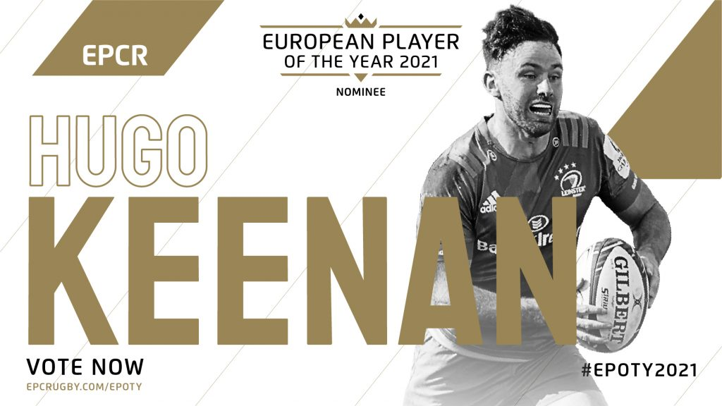 EPOTY nominee Keenankey to Leinster's semi slot