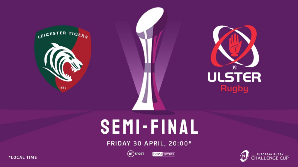 Leicester and Ulster gunning for first Challenge Cup final