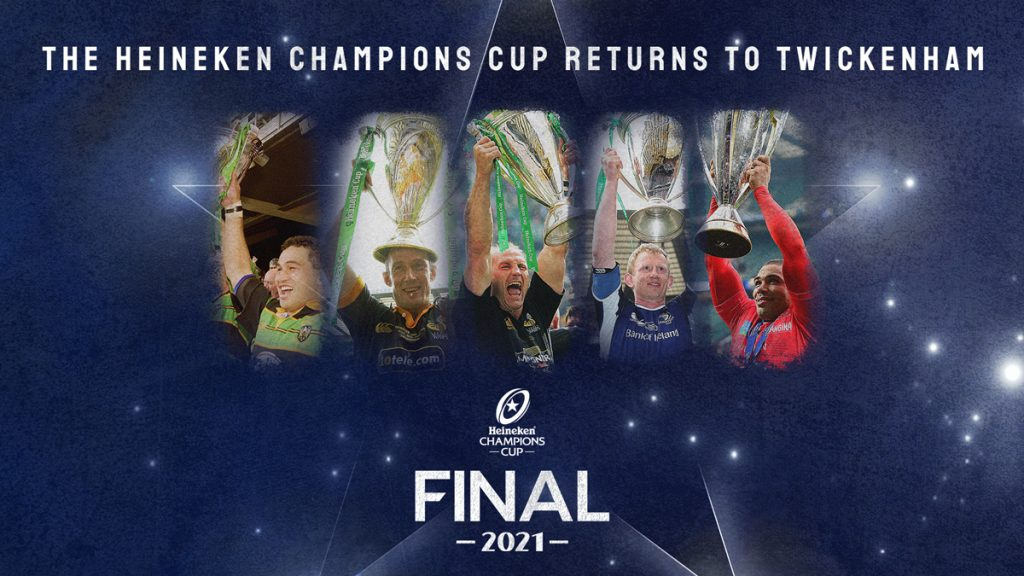Five classic European finals at Twickenham