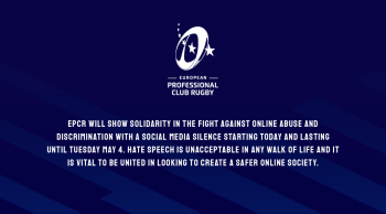 European club rugby social media channels to fall silent on semi-final weekend