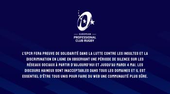 Silence sur les réseaux sociaux des Coupes d'Europe pendant les demi-finales