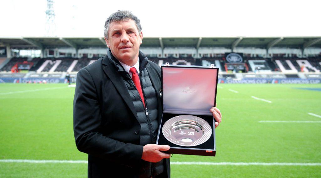 Lacroix honoured ahead of Heineken Champions Cup semi-final
