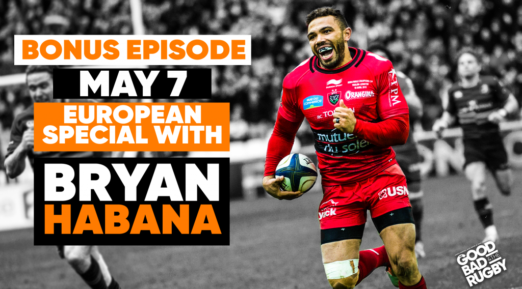 Bryan Habana talks EPOTY and European Finals Weekend on leading podcast