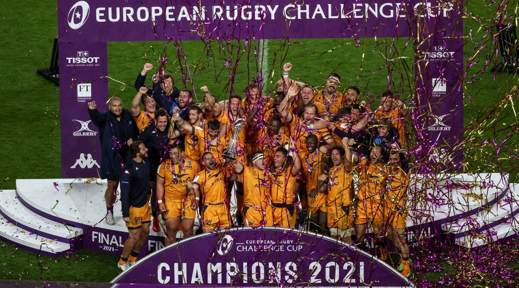 Montpellier edge out Leicester Tigers to claim second Challenge Cup title