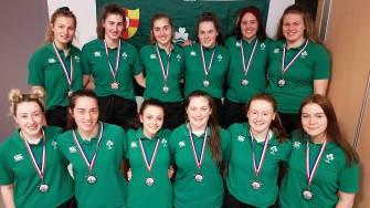 Ireland U-18 Women Win Bronze With Best Ever European Sevens Finish