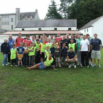 Smiles All-Round As Connacht Squad Visit Sunflower Chernobyl Camp