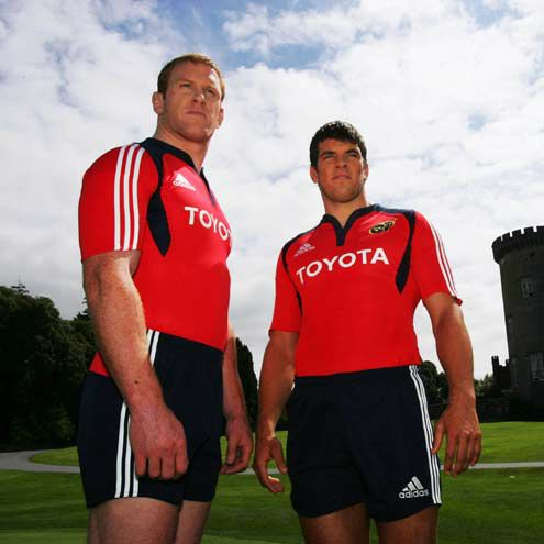 b748db61f6bb6 Irish Rugby | New Munster Kit Is Unveiled