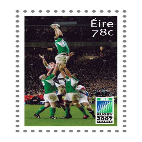 O'Connell STAMPS His Mark