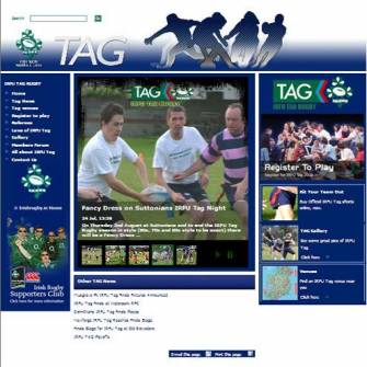 New Look IRFU Tag Website Unveiled