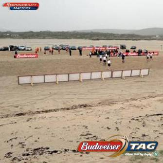 Inchydoney Next Up For Budweiser Beach Tag