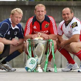 Heineken Cup Is Launched In Dublin