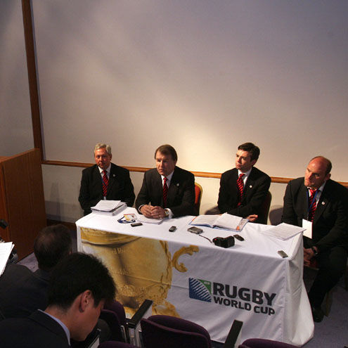RWC Tender Unions Present To The IRB Council