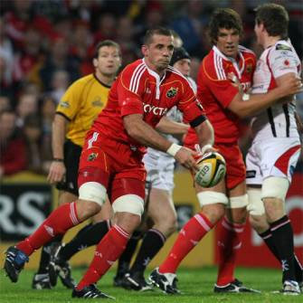 Munster Select Squad For Ulster Tie