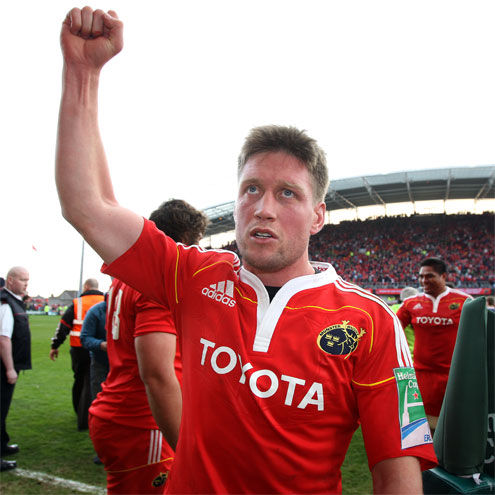 ERC Player Honour For O'Gara