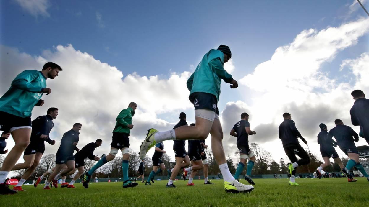 In Pics: Ireland Training At Carton House