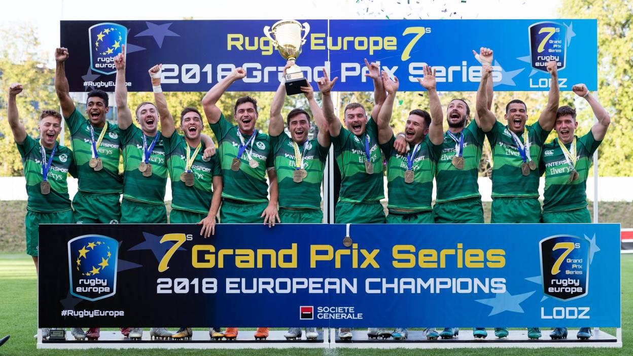 Ireland Men Create More History As New European Sevens Champions