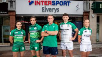 In Pics: Announcement Of Ireland's World Cup Sevens Squads