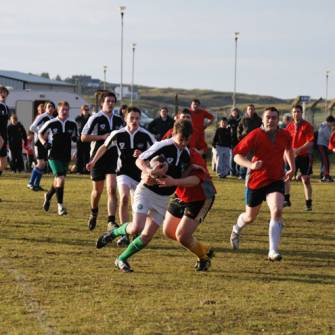 Historic First Game For Tir Chonaill Senior Side