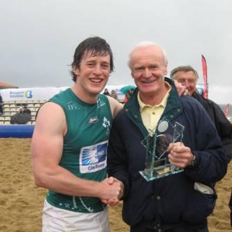 Ireland Club Team Captures Beach Rugby Plate