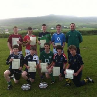 Pupils Complete Gaeltacht Rugby Scholarship Scheme