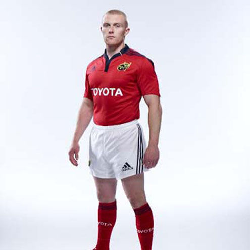 24c4d551f Irish Rugby   Munster Unveil New Home And Away Kits
