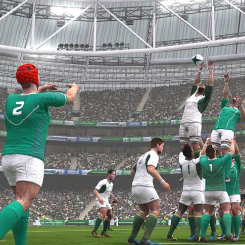 Irish Rugby Hb Studios To Convert Irfu License For Rwc Video Game