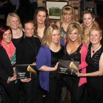 Young Munster Women Launch 2012 Calendar