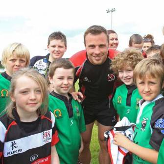 Ulster Draw Fans To Derry Training Session