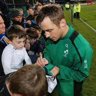 Open Training Session A Hit With Ireland Fans