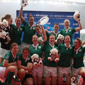 Ireland Women Secure Plate Title In China