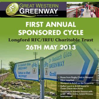 Longford's Greenway Cycle For Charitable Trust