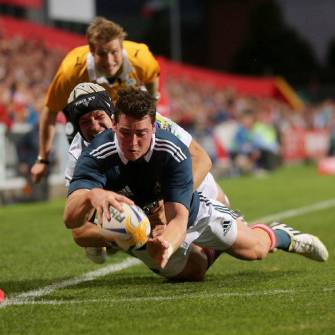 Munster Triumph Thanks To O'Mahony Hat-Trick