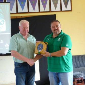 Mullingar And Ballincollig Receive SAFE Rugby Level 1 Training