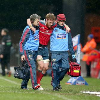 Munster's Dougall And Downey Pick Up Injuries
