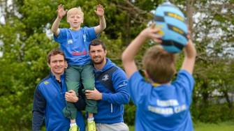 Leinster Launch Summer Camps With Surprise Training Session