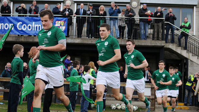 Ireland U-18 Schools Squad Announced For FIRA European Championship