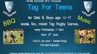 NUIM Barnhall Provide Summer Fun With 'Tag For Teens' Initiative