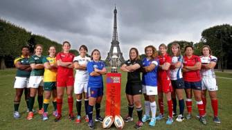 Women's Rugby World Cup Is Launched In Paris