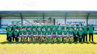Ireland U-18 Clubs Squad All Set For Festival Opener
