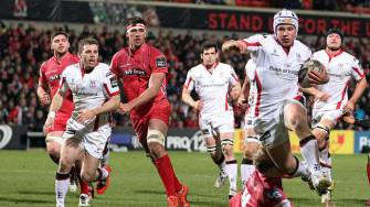 Three-Try Salvo Keeps Ulster On Track