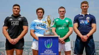 World Rugby Under-20 Championship Is Launched In Milan