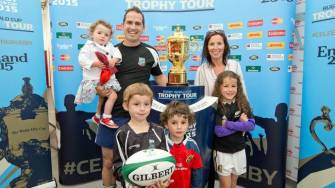 Video Highlights: Rugby World Cup Trophy Tour In Ireland