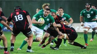 Match Video: Georgia 12 Emerging Ireland 45