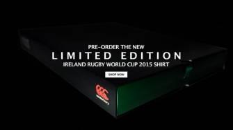 Pre-Order The Ireland Commemorative RWC Test Jersey