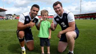 In Pics: Ireland Open Training Session In Cork