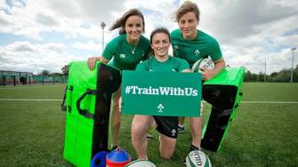 #TrainWithUs – Your Chance To Train With Ireland Women's Internationals