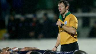 IRFU Referee Appointments For The Weekend