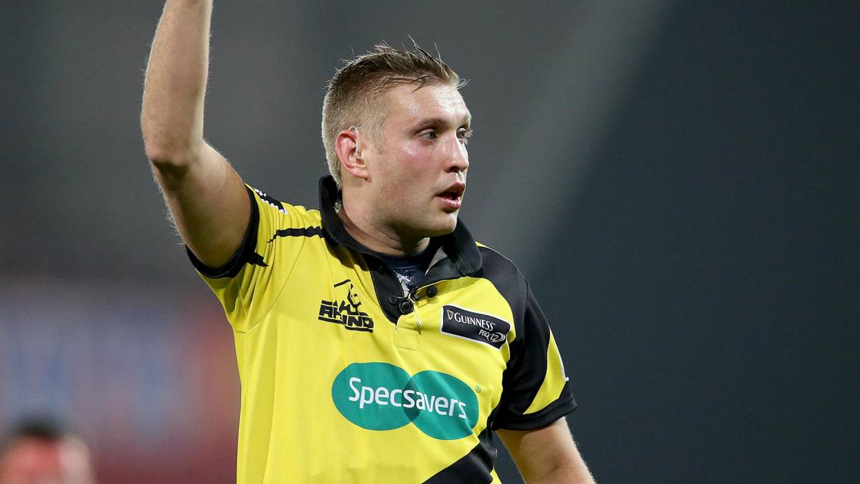 Irish Rugby | IRFU Referee Appointments For This Weekend