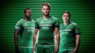 Connacht Unveil New Home Jersey For 2016/17
