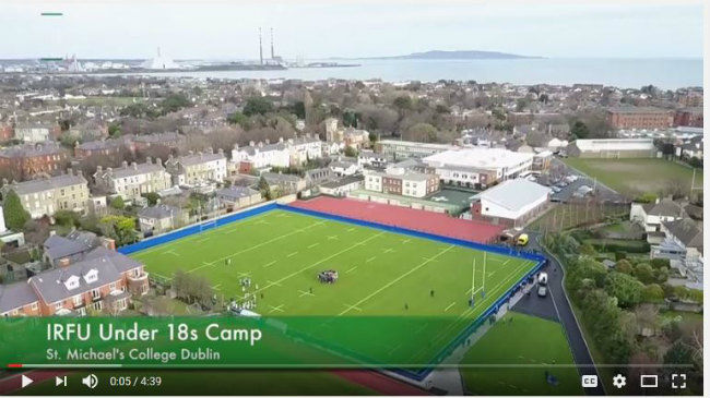 Ireland Under-18s Enjoy Three-Day Training Camp